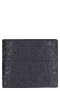 All-over logo print flap-over wallet, Wallets Salvatore Ferragamo man