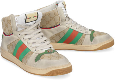 Screener high-top sneakers