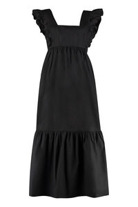 Cotton long dress, Midi dresses Self-Portrait woman