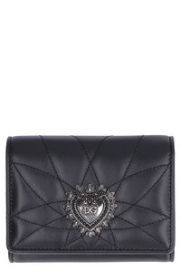 Quilted leather french-flap wallet, Wallets Dolce & Gabbana woman