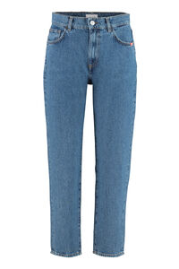 Jeans slouchy Lizzie, Jeans straight Amish woman