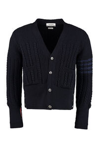 Cable knit cardigan, Cardigans Thom Browne man