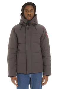 Macmillan hooded parka with patch, Parkas Canada Goose man