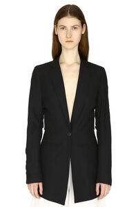 Bergamo single-breasted viscose blazer, Blazers Jacquemus woman