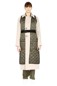 Lolclon double-breasted trench coat, Raincoats And Windbreaker H2OFagerholt woman