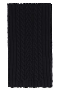 Cable-knit scarf, Scarves Moncler woman