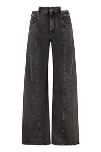5-pocket jeans, Wide Leg Jeans Maison Margiela woman