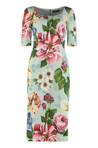 Printed cady dress, Printed dresses Dolce & Gabbana woman