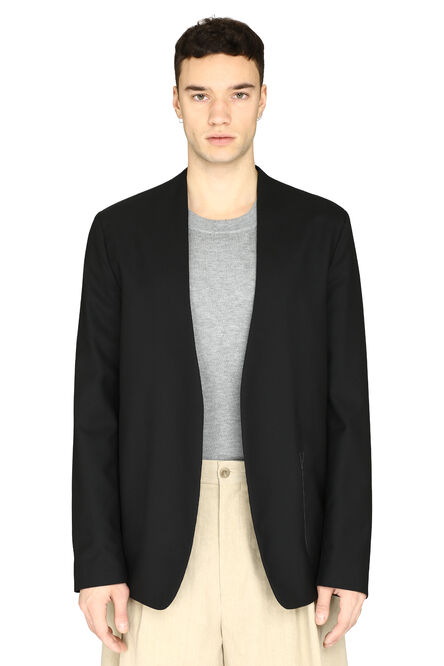 Collarless wool blazer, Single breasted blazers Maison Margiela man