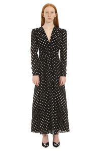 Polka dot print long dress, Maxi dresses Alessandra Rich woman