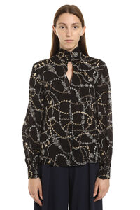 Complici printed georgette blouse, Blouses Pinko woman