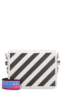 Leather camera bag, Shoulderbag Off-White woman