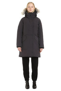 Ellesmere parka with fur trimmed hood, Down Jackets Canada Goose woman