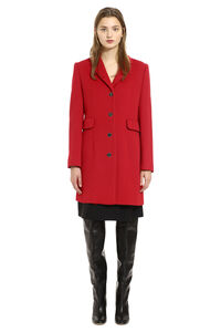Wool coat, Knee Lenght Coats Boutique Moschino woman