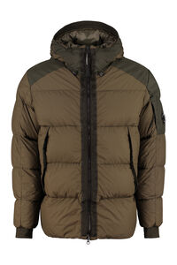 Taylon hooded down jacket, Down jackets C.P. Company man