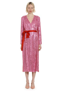 Sequined wrap-dress, Gowns & Evening dresses The Attico woman