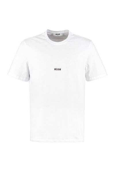 Logo print cotton t-shirt