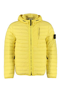 Hooded short down jacket, Down jackets Stone Island man