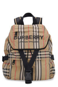 Printed nylon backpack, Backpack Burberry woman