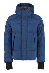 Armstrong padded hooded jacket with snaps, Down jackets Canada Goose man