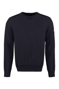 Paterson crew-neck wool sweater, Crew necks sweaters Canada Goose man