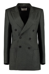 Double-breasted wool blazer, Blazers Maison Margiela woman