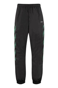 Techno fabric track pants, Track Pants Off-White man