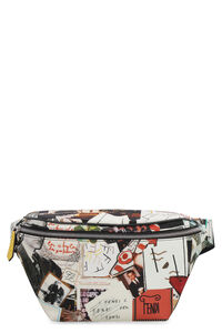 Printed nylon belt bag, Beltbag Fendi man