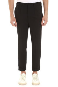 Virgin wool trousers, Casual trousers AMI man