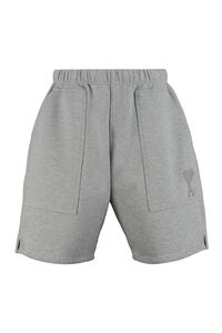 Logo print sweatshorts, Shorts AMI PARIS man