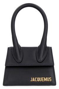 Le Chiquito leather mini bag, Top handle Jacquemus woman