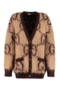 GG reversible cardigan, Cardigan Gucci woman
