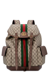 Ophidia GG supreme fabric backpack, Backpack Gucci man
