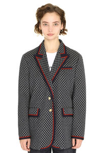Single-breasted two button jacket, Blazers Gucci woman