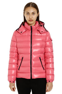 Full zip padded hooded jacket, Down Jackets Moncler woman