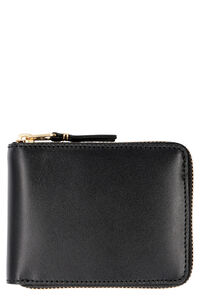 Leather zip around wallet, Wallets Comme des Garçons Wallet man