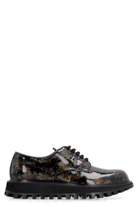 Glittered patent leather derby shoes, Casual Shoes Dolce & Gabbana man