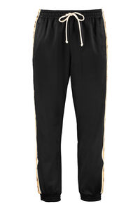 Side logo stripe track-pants, Track Pants Gucci man