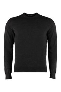 Wool crew-neck pullover, Crew necks sweaters Drumohr man