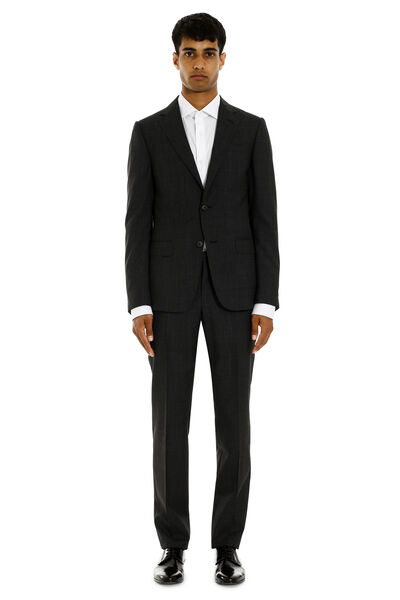Two-pieces wool suit