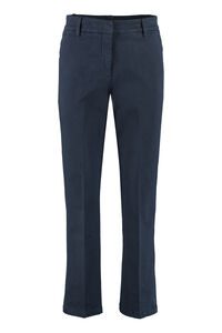 Jet cropped flared trousers, Straight Leg pants Department 5 woman