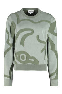 K-Tiger crew-neck sweater, Crew neck sweaters Kenzo woman