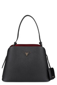 Matinée saffiano leather bag, Top handle Prada woman