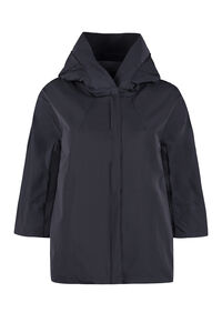 Hooded windbreaker, Raincoats And Windbreaker add woman