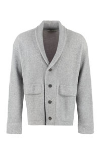 Wool and cashmere cardigan, Cardigans Z Zegna man