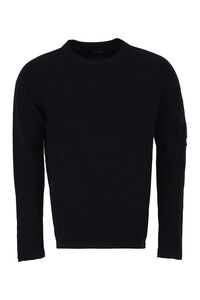 Long sleeve crew-neck sweater, Crew necks sweaters C.P. Company man