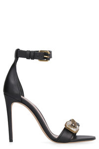 Leather sandals, High Heels Alexander McQueen woman
