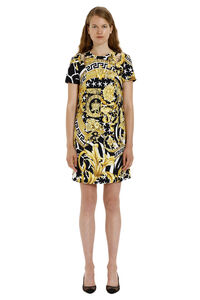 Viscose dress, Printed dresses Versace woman