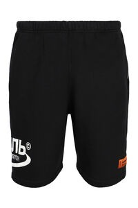 Logo print sweatshorts, Shorts Heron Preston man