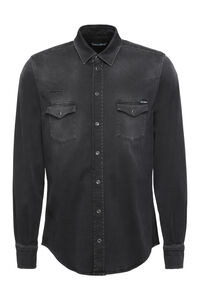 Long sleeve denim shirt, Denim Shirts Dolce & Gabbana man